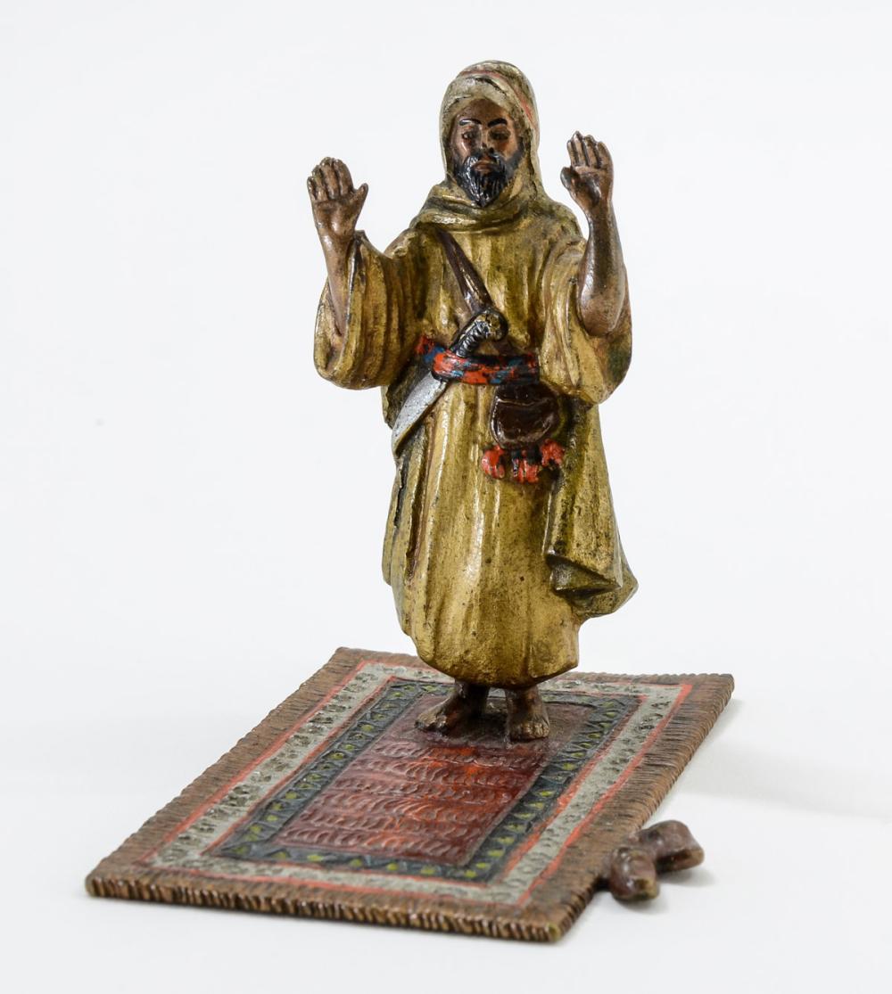 Orientalist Vienna Bronze