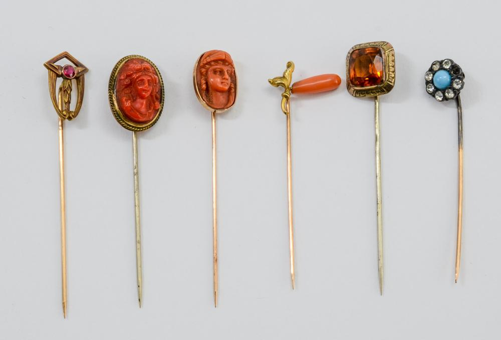Antique Estate Stick Pins