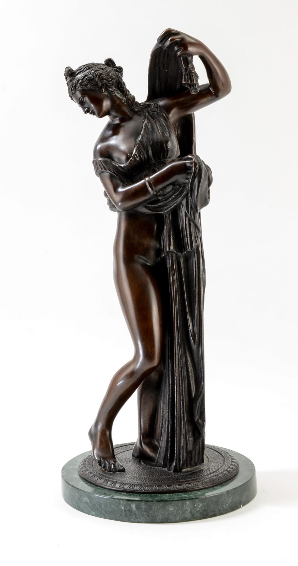 Classical Inspired Bronze Nude