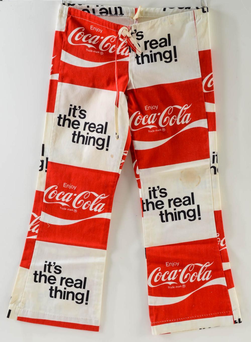 Vintage Coca Cola Vendor Pants