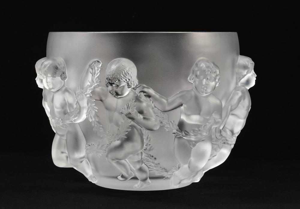 Lalique Luxembourg Crystal Bowl