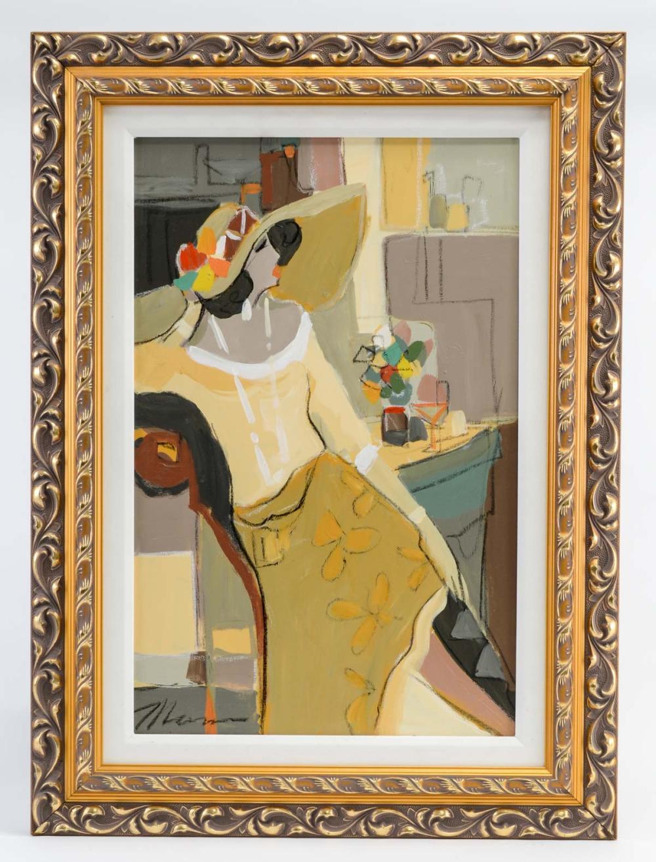 Isaac Maimon: Original Acrylic on Canvas