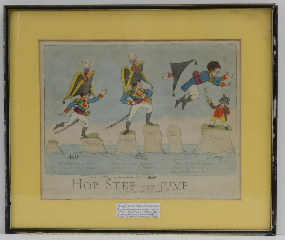 English Caricature: Napoleon, John Bull