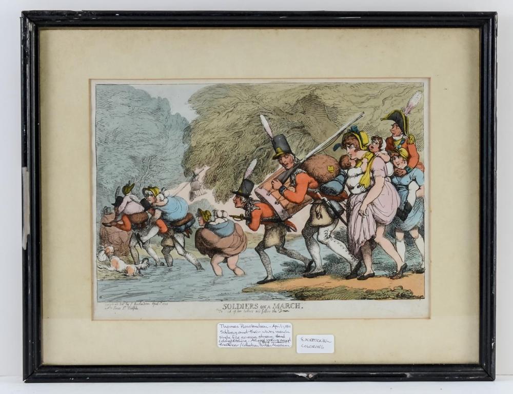 Thomas Rowlandson Caricature