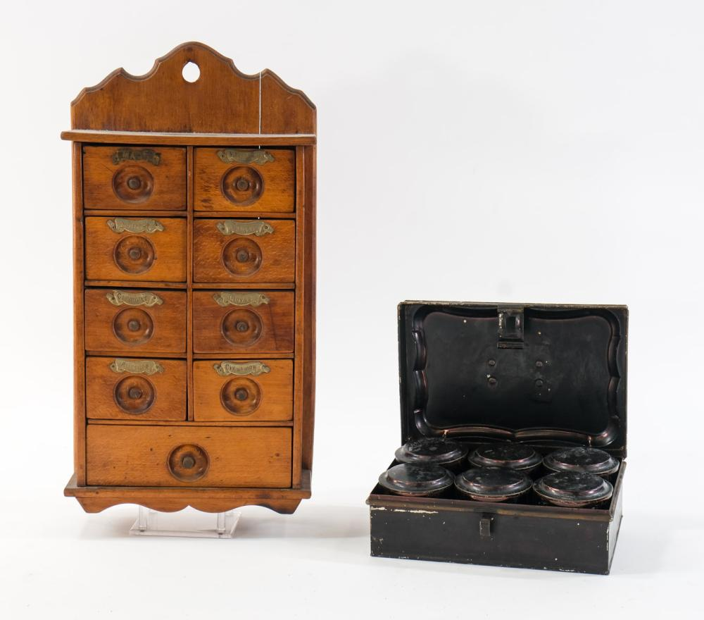 Spice Cabinet and Box