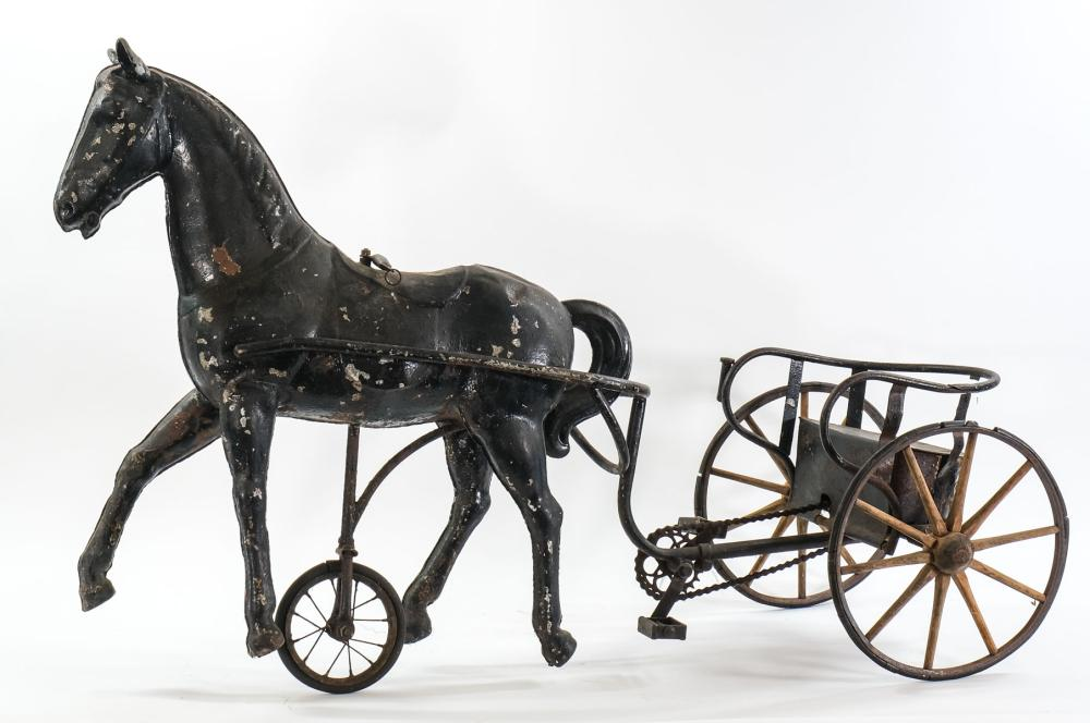 Horse and Buggy Pedal Cart