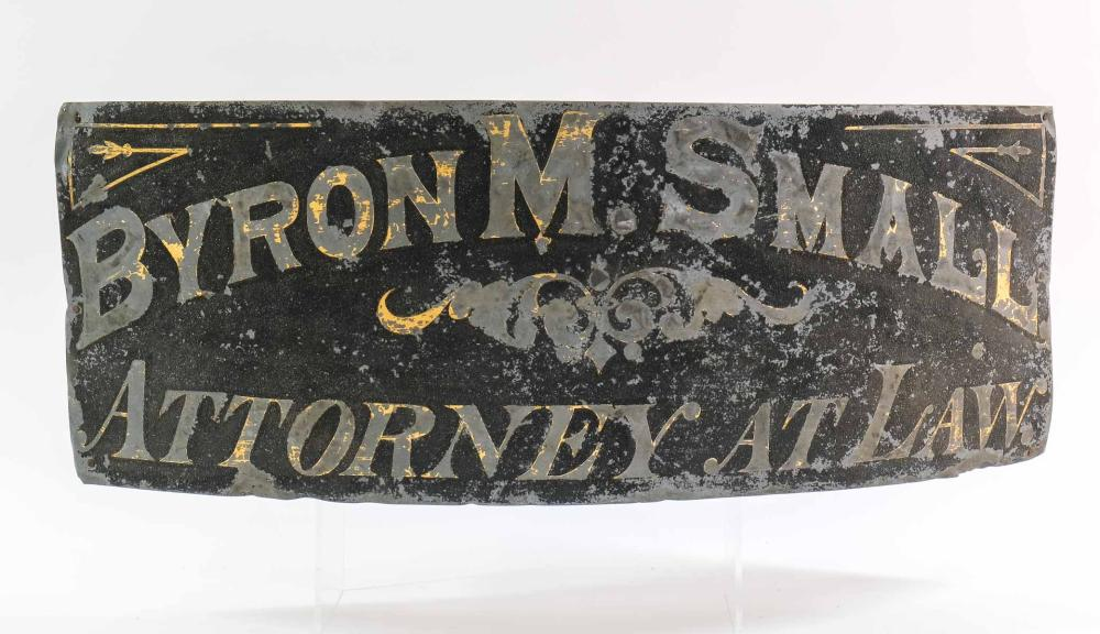 Antique Attorney or Lawyer Trade Sign