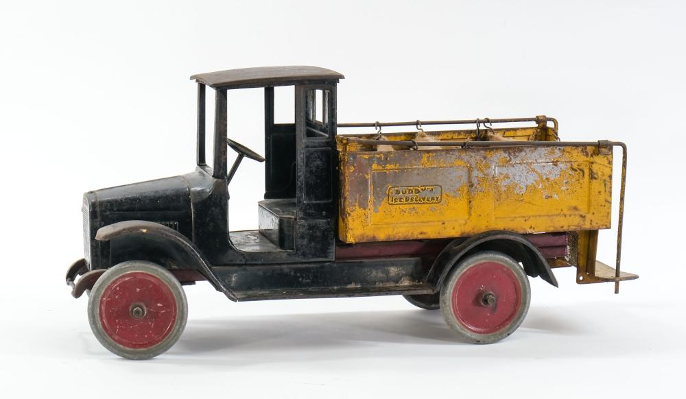 Buddy L Pressed Steel Ice Delivery Truck