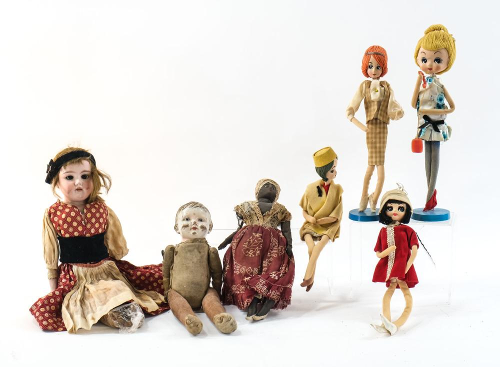 Antique and Vintage Doll Group