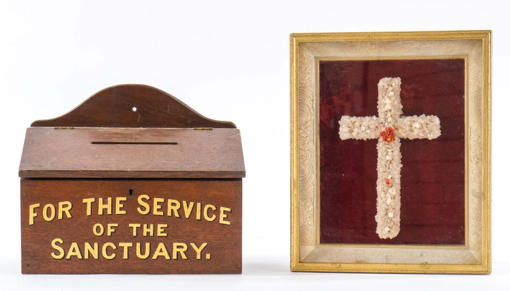 Two Christian Religious items