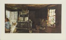 Andrew Wyeth Collotype