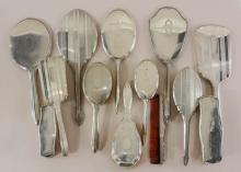 Sterling Silver Vanity Group