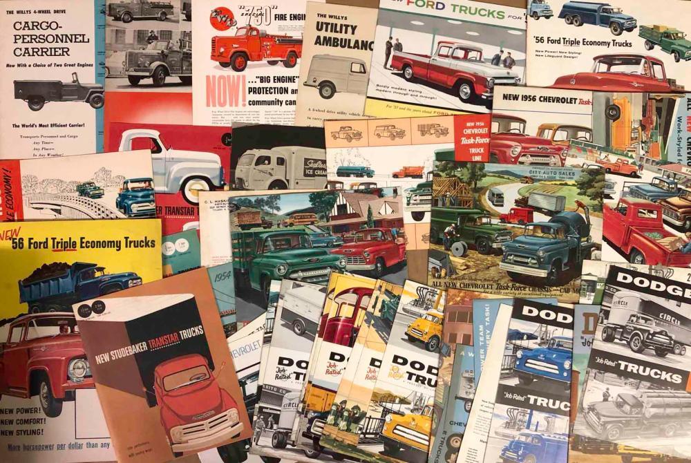 1940's-50's truck brochures