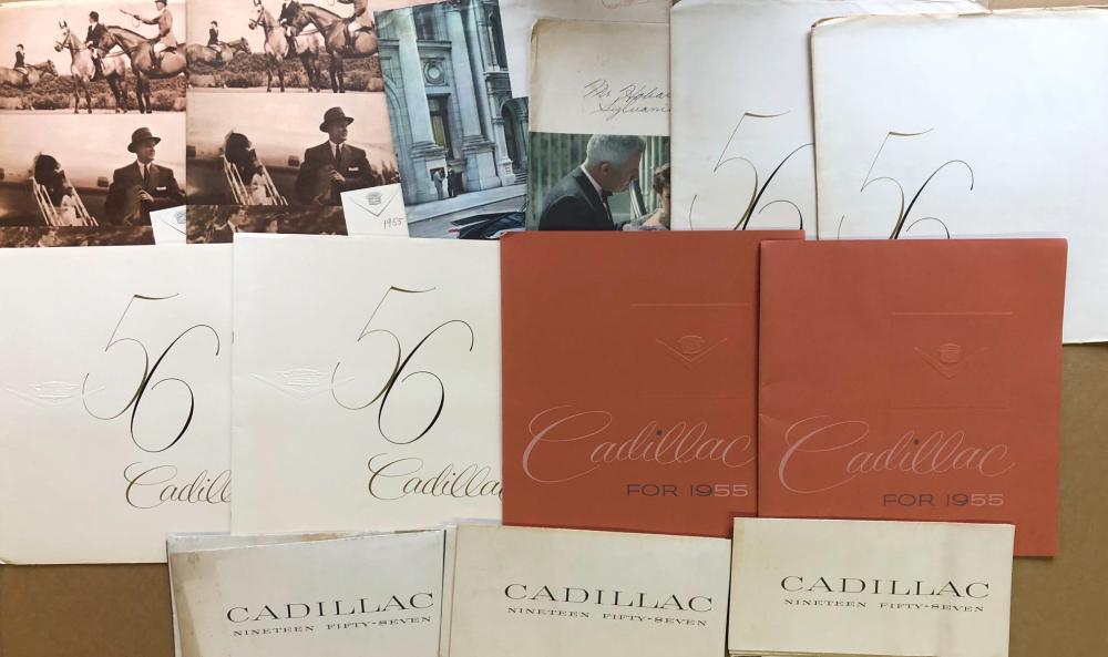 1950-1959 Cadillac brochures