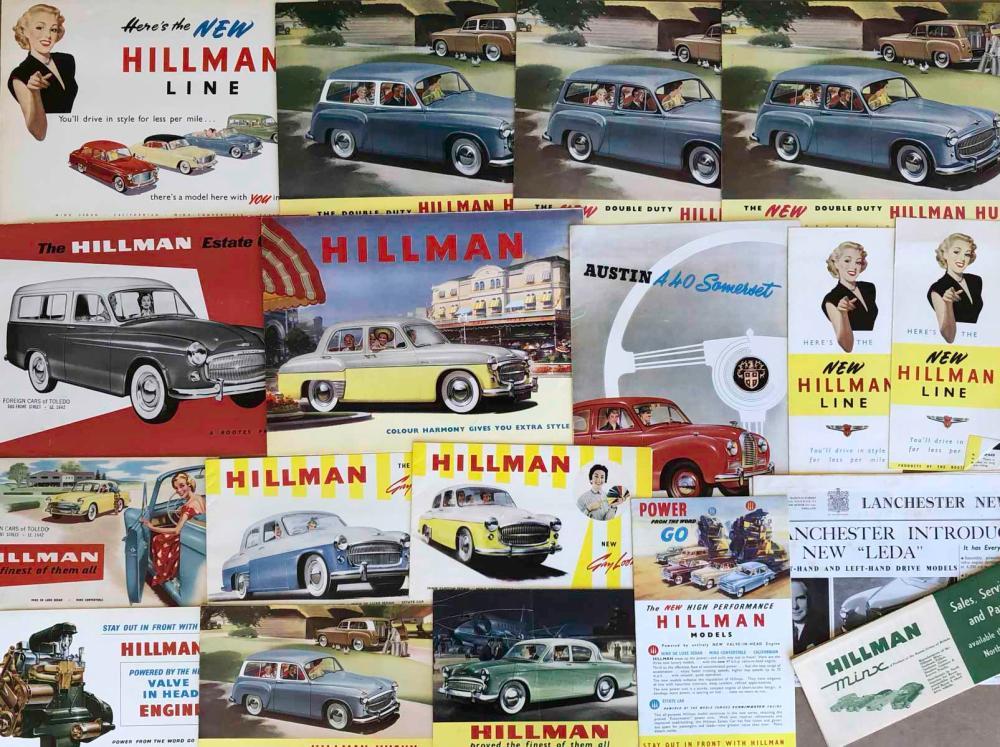 1950's Austin, Hillman, Vauxhall broc