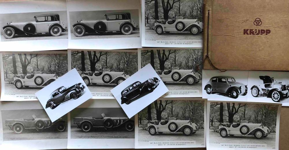 Period 1920's and later Mercedes Benz photos