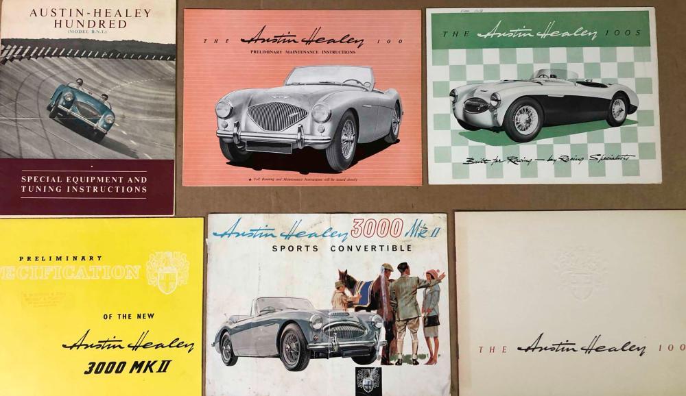 Austin Healey brochures
