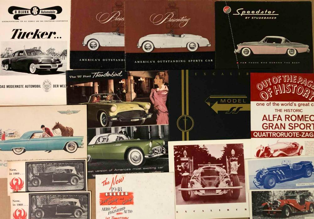 1950's-60's US limited production brochures