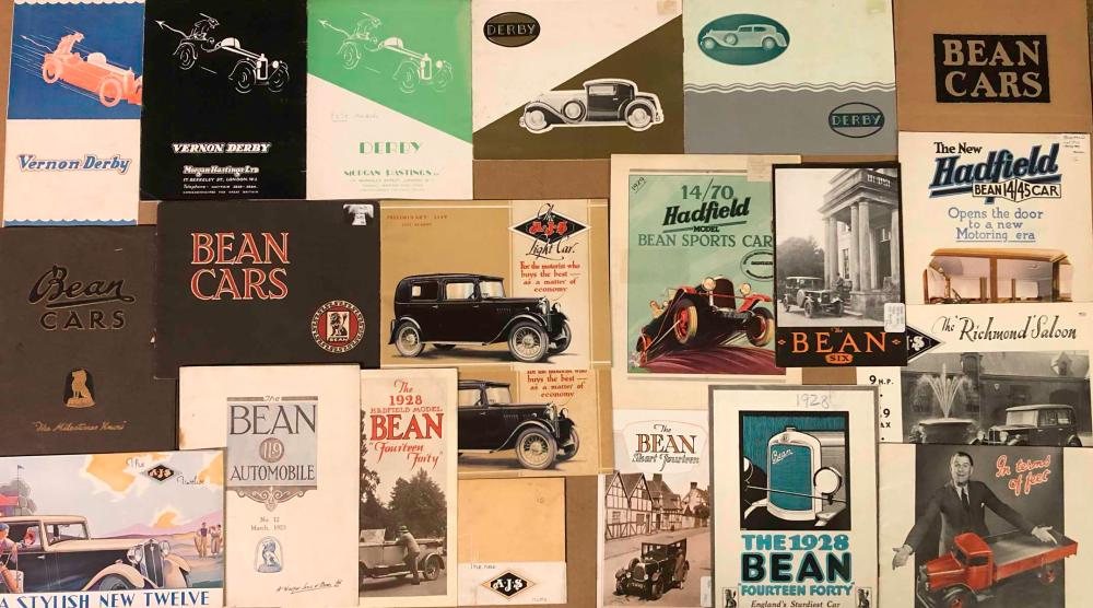 1920's-30's misc British brochures