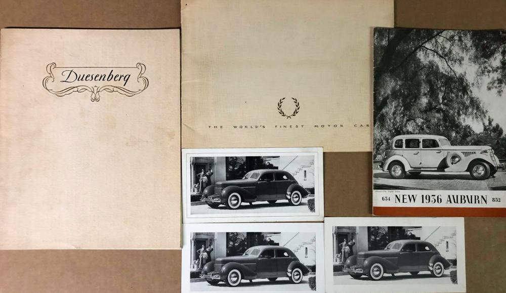 Duesenberg, Auburn, Cord items