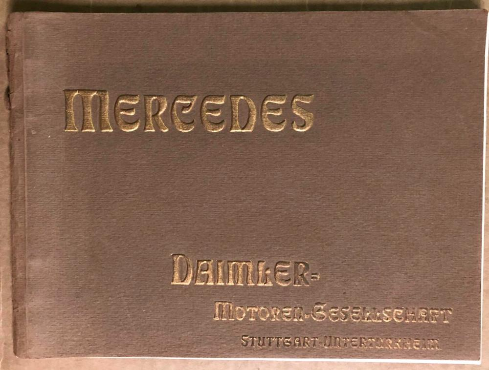 Ca 1908-09 Mercedes Daimler  full line catalog