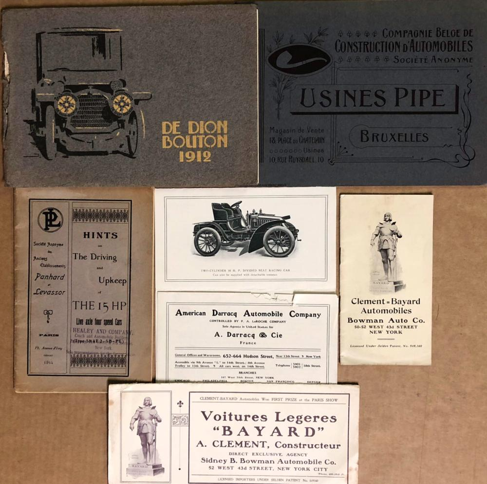Early European brochures