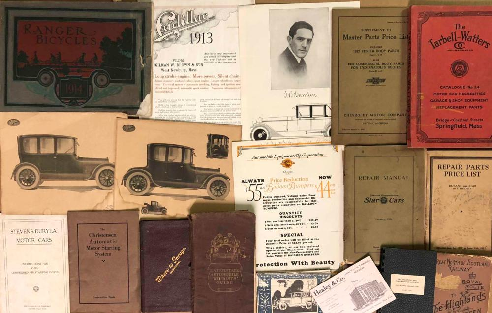 1900-1930's brochures and paper items