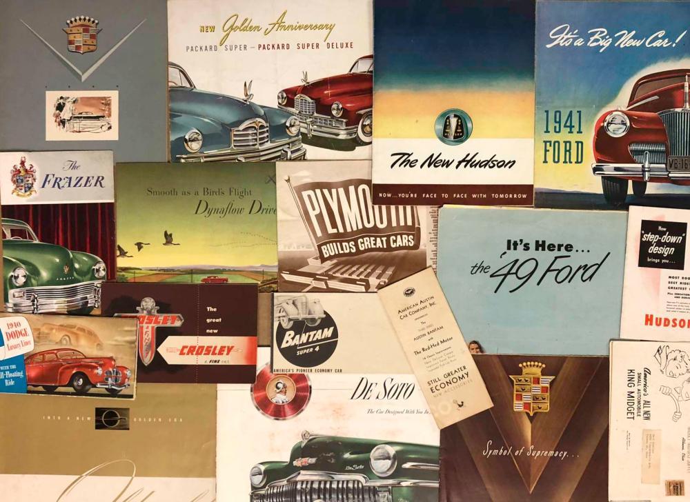 1930's-1940's misc brochures