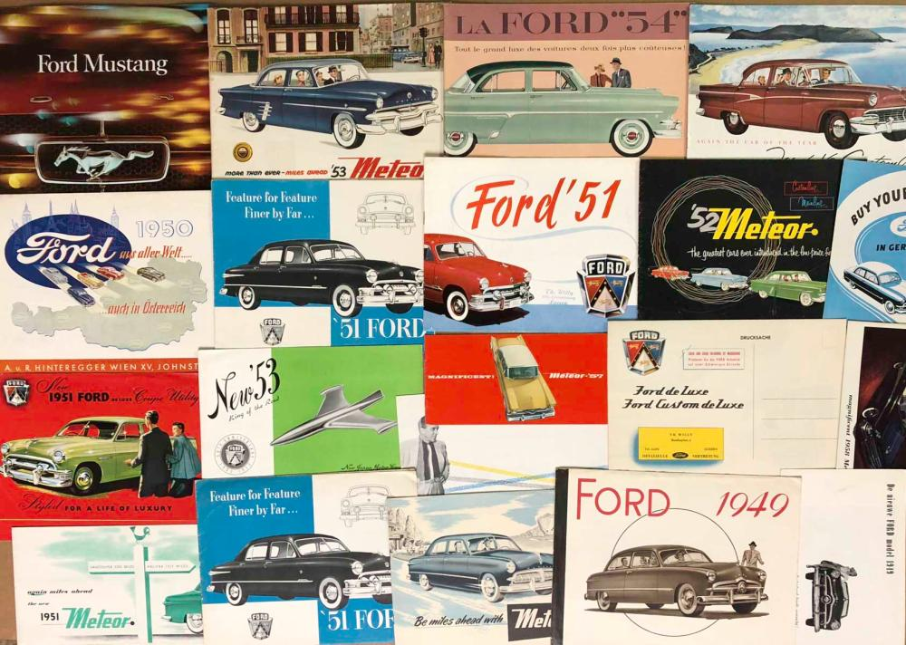 Ford - 1940's-70's Canadian,other world market bro