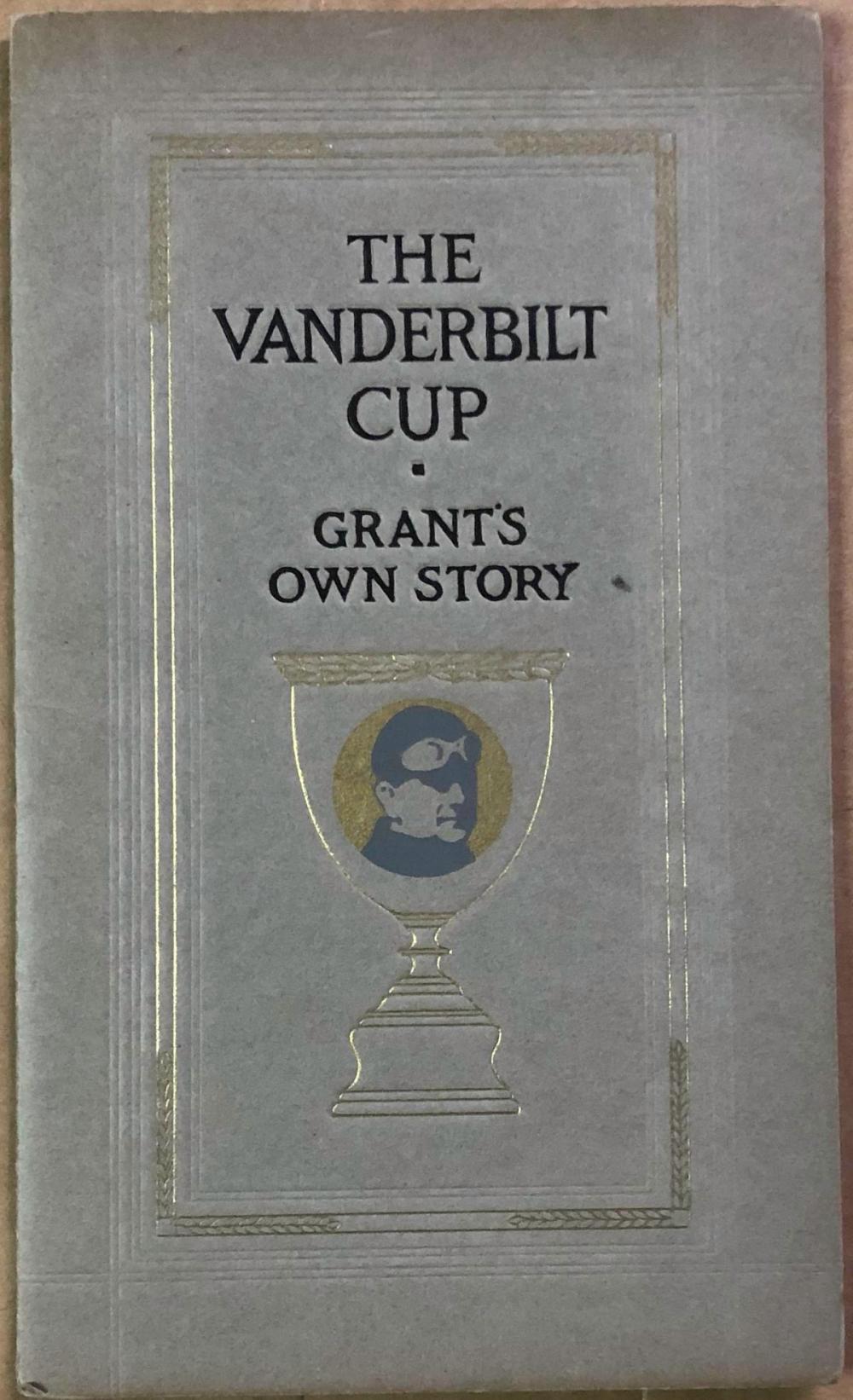 Vanderbilt Cup - 1911 Alco driver Grant's Own Stor