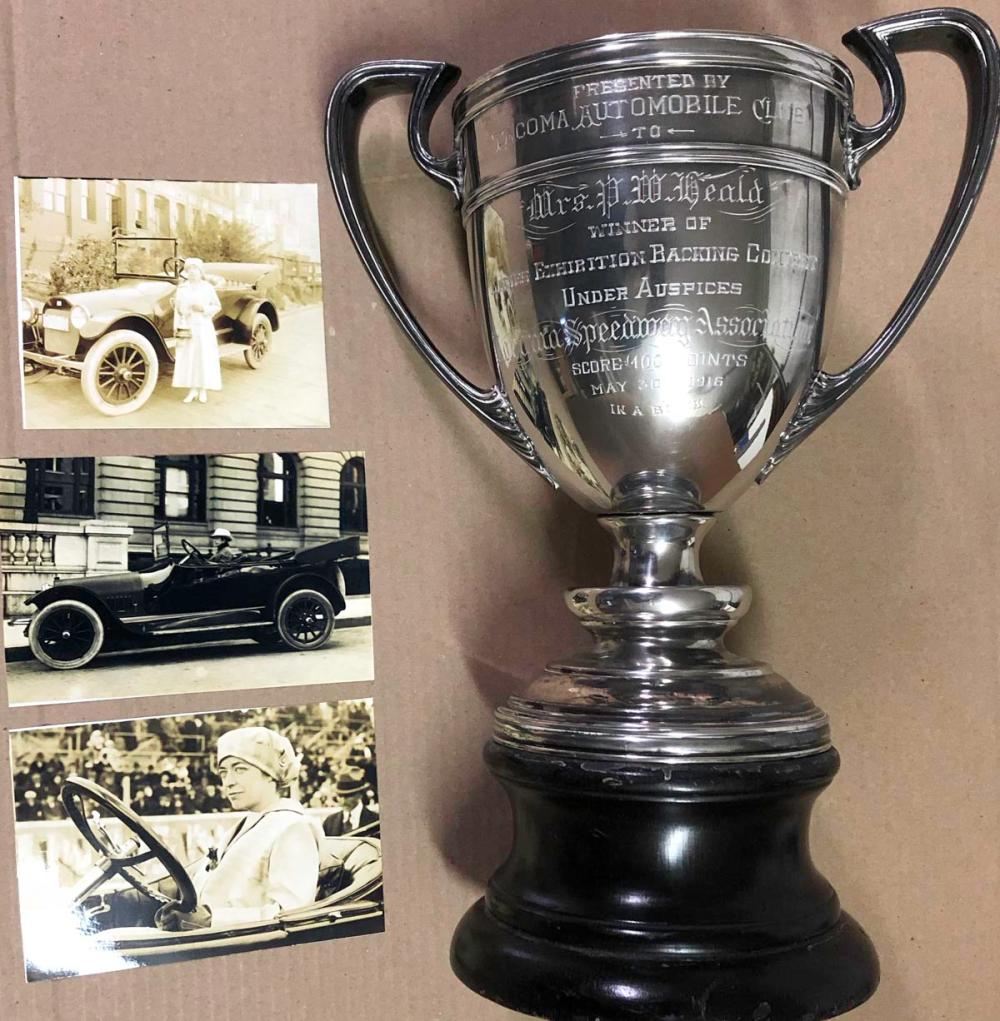 1916 Tacoma Ladies Exhibition winner trophy