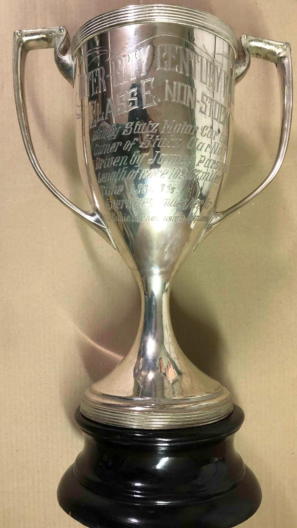1913 Tacoma race trophy - documented provenance