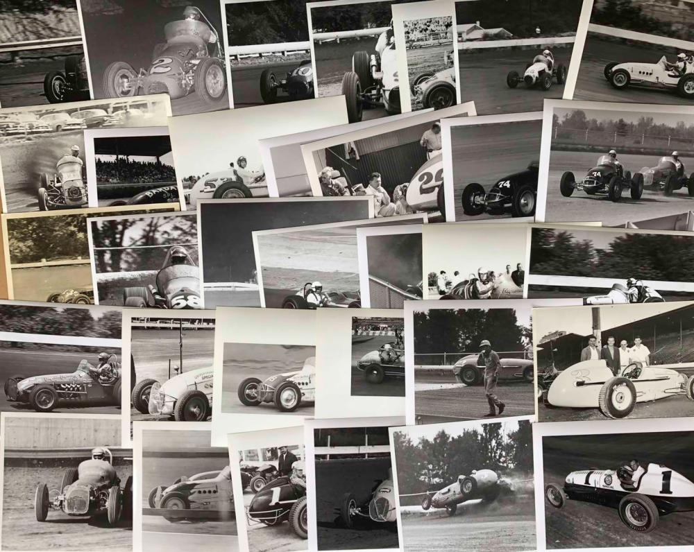 100 1950's-60s Sprint & Big Car 8 x 10 photos