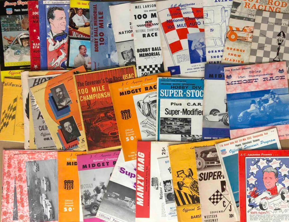 100 1950's-1960's race programs