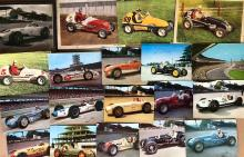 Lot 8: INDY 500 related - post card set, autographed, etc