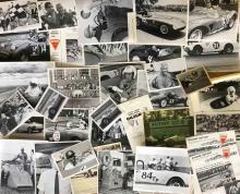 Lot 10: Original 1960's period Oilzum promotional race pho