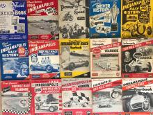 Lot 13: INDY 500 yearbooks from 1946 - 1961