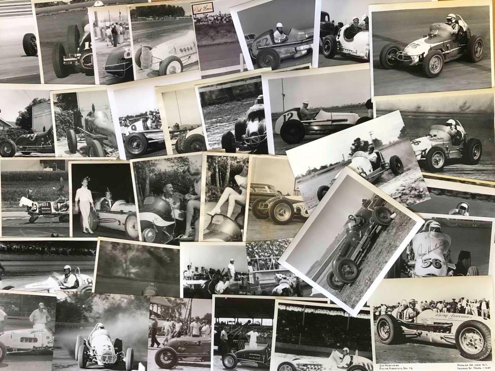 Lot 14: 150 1950's-60's Champ & Sprint 8 x 10 photos