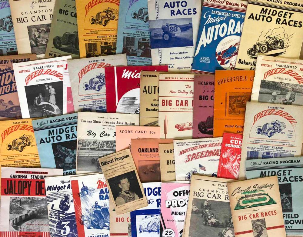 85 1940's - early 1950's race programs