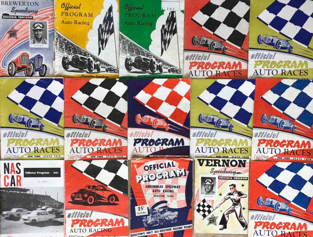 67  1950's race programs, most are East Coast