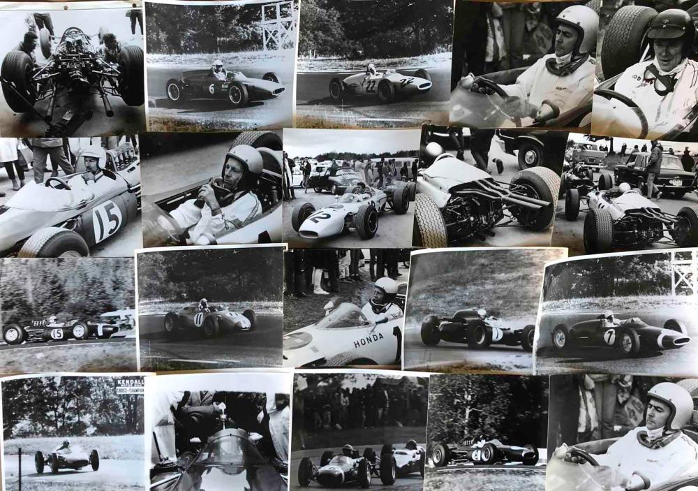 Lot 23: 1960's period GP race photos