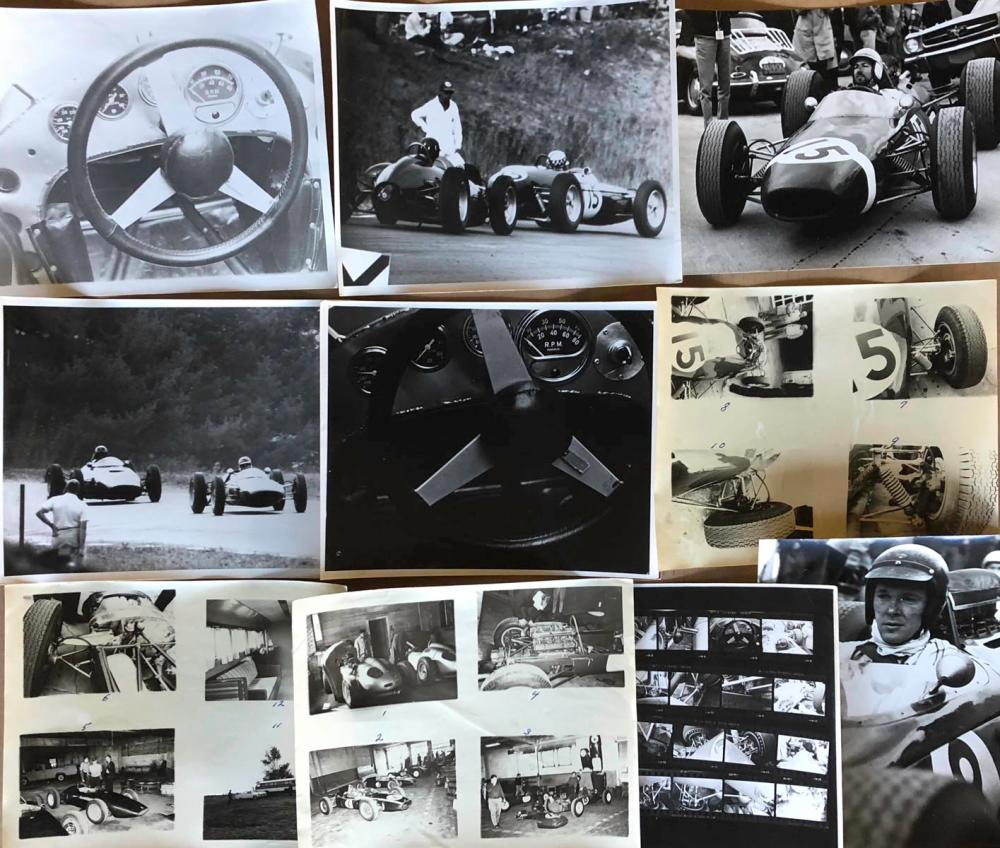 1960's period GP race photos