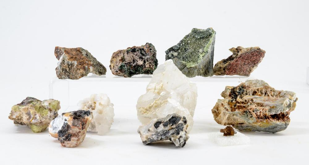 GROUP OF 11 MINERALS