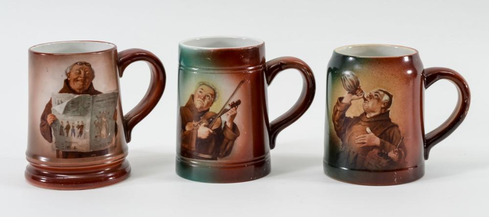 Three Handel Ware Mugs
