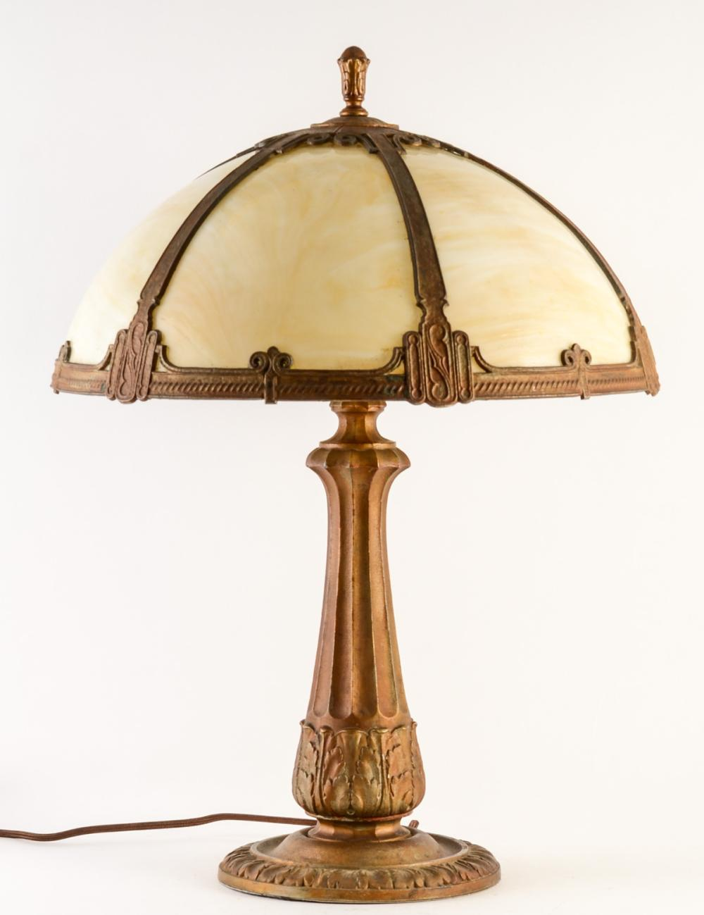 Miller Glass Panel Lamp