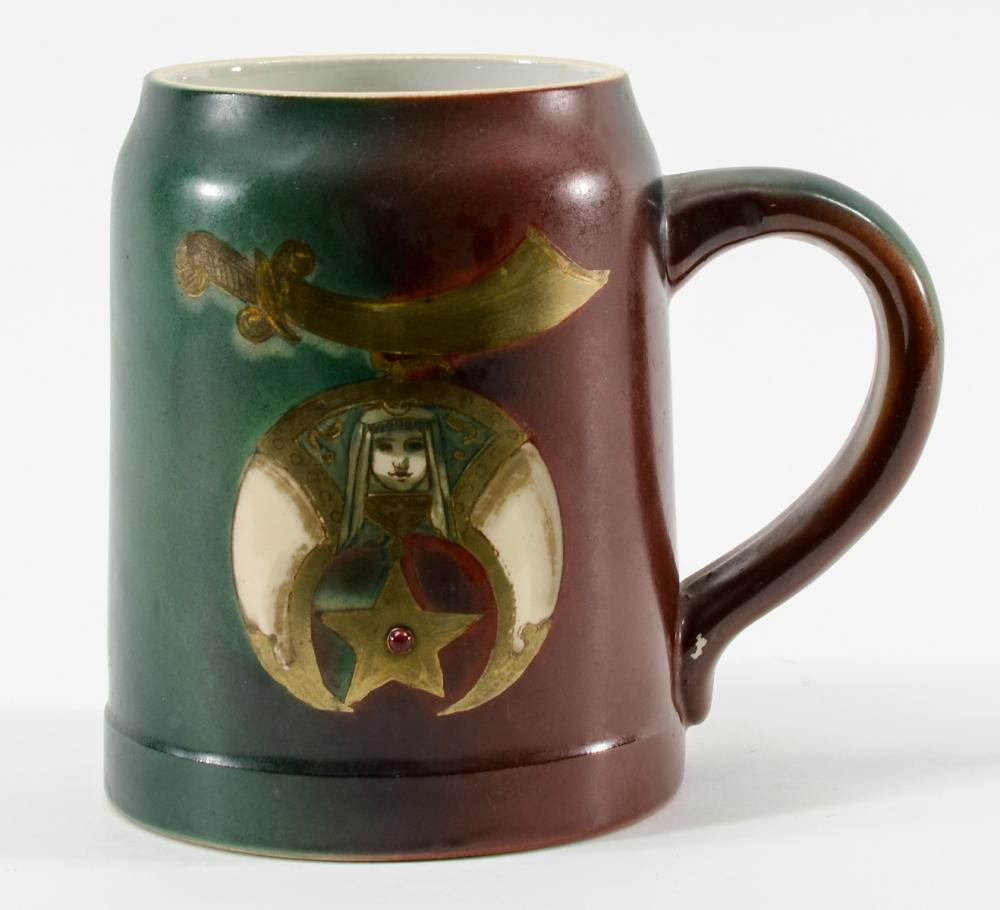 Handel Ware Shrine Decorated mug