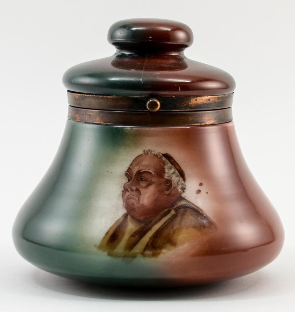 Handel Ware Glass Pipe Tobacco Humidor