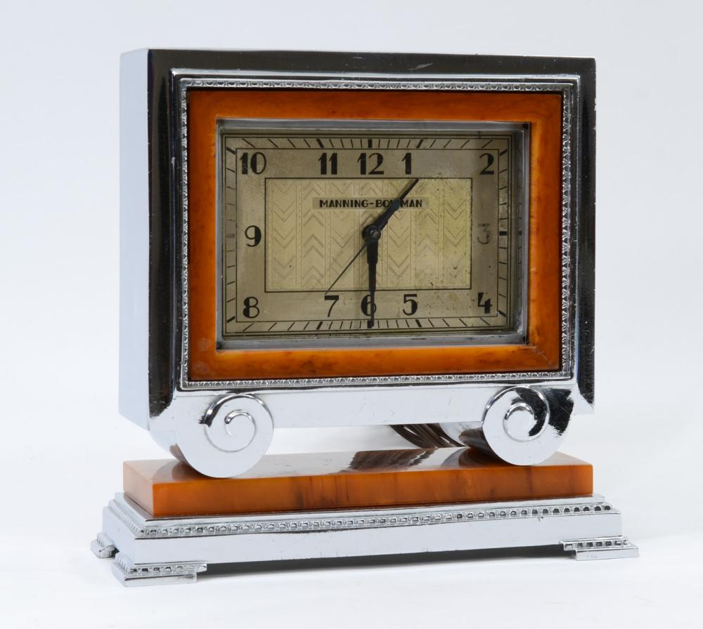 Manning Bowman Art Deco Mantle Clock