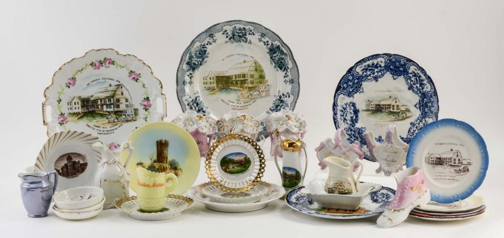 Estate Collection: Meriden Souvenir China