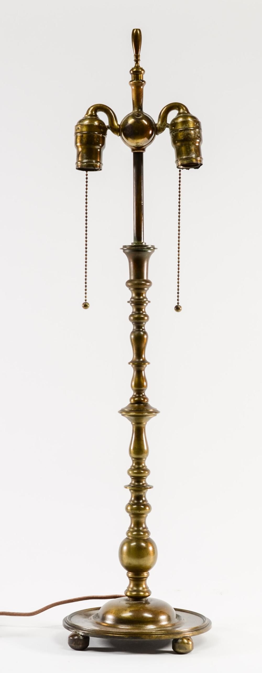 Handel Brass Lamp Base